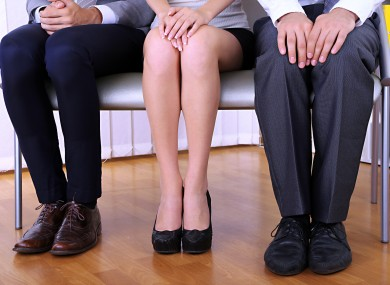 Stressful people waiting for job interview (File photo)