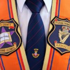 The Collerate of a Portadown District Loyal Orange Lodge in Drumcree church during the service. (Julien Behal/PA Images)<span class=