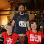 Independent TD Luke Ming Flanagan at Running Against Cancer's run in Ballinasloe. (Pic: Running Against Cancer/ Facebook)