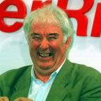 Huge crowds turned out to welcome the Nobel Laureate home and Heaney looked to enjoy the occasion.<span class=