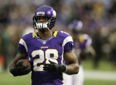 Adrian Peterson was a fantasy football stud last year but can he repeat it this season?