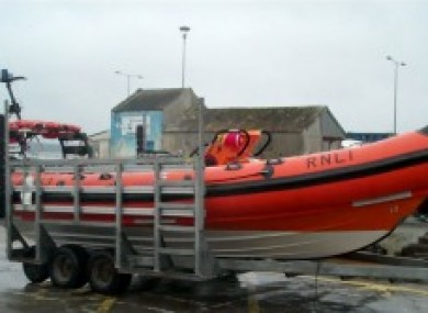 The Baltimore RNLI inshore lifeboat (File photo)