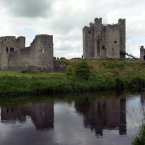 Trim Castle in Trim County Meath, on the River Boyne,one of Irelands most dramatic historical buildings. (Pic: Photocall Ireland)