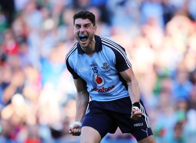 Bernard Brogan scored two crucial goals for Dublin.