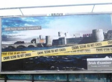 The controversial billboard.