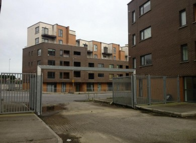 Residents have been evacuated from Priory Hall since October 2011.