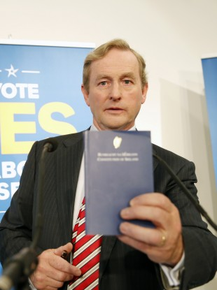 The Constitution will be a bit lighter if the Seanad referendum passes.