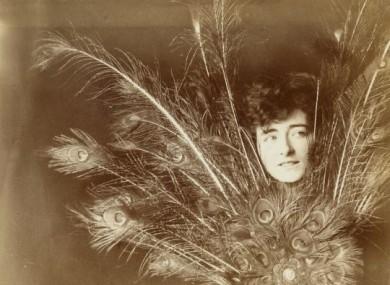 Eileen Gray taken in Paris circa 1902 when she was a student.