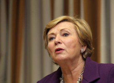 Minister for Children and Youth Affairs Frances Fitzgerald.