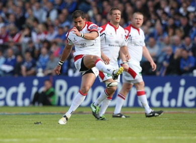 Pienaar has scored over 500 points for Ulster since 2010.