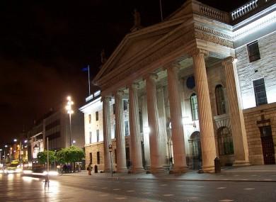 The GPO in Dublin city centre