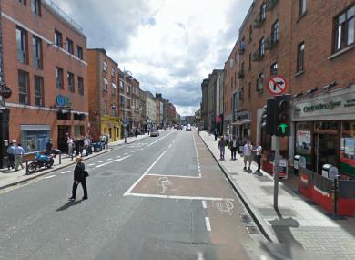 Aungier Street in Dublin (File photo)