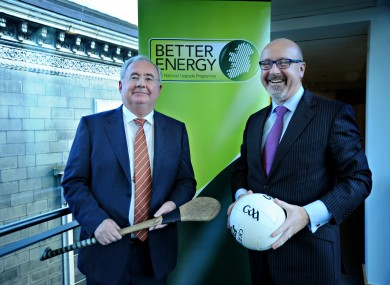 Pat Rabbitte with John Whelan in happier times