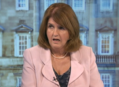 Joan Burton on The Week in Politics today