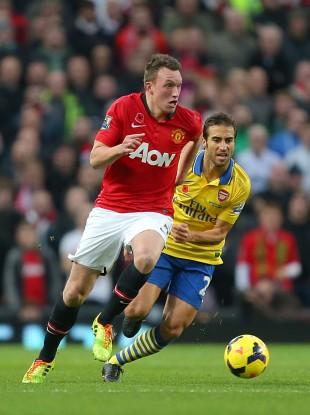 Jones was impressive in the win over Arsenal.