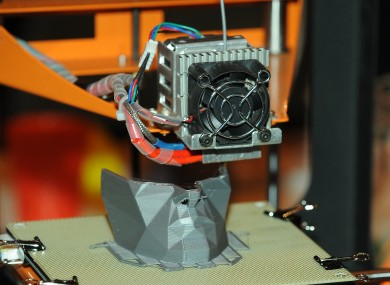 3D printing will grow in popularity over the next twelve months.