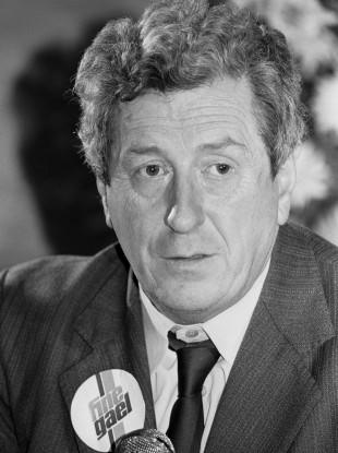 Garret Fitzgerald - the Taoiseach in 1983