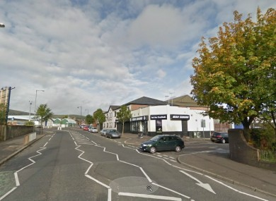 Crumlin Road, near Brompton Park, Belfast