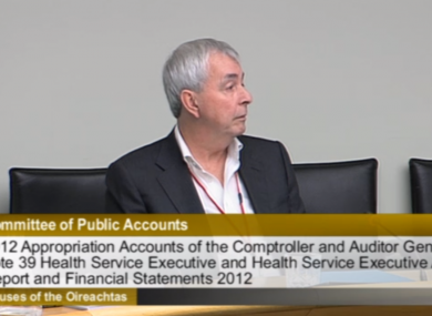 Paul Kiely told the PAC that he resigned from the board of the CRC in recent weeks