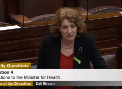Lynch in the Dáil this morning