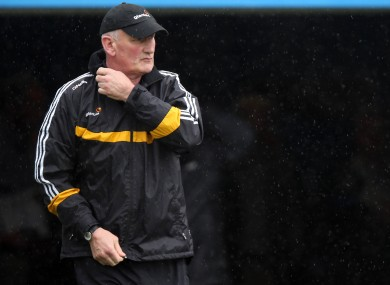 Brian Cody was back in action with Kilkenny today.