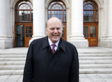 Noonan pleased with Ireland's bailout exit last month.