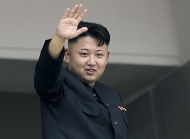 Kim Jong-Un, pictured in July 2013