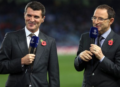 Keano the pundit is under the spotlight this weekend.