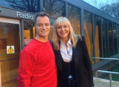 Rory O'Neill and Miriam O'Callaghan