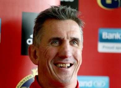 Penney will leave Munster at the end of the season.