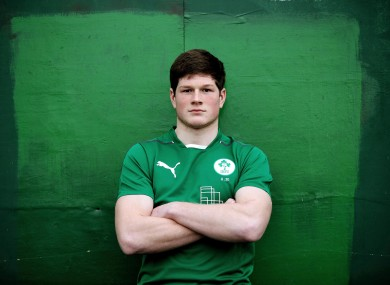O'Donoghue was part of the JWC squad in 2013 under Mike Ruddock.