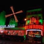 The Moulin Rouge in Paris became the 'Moulin Vert' in honour of Irish culture. <span class=