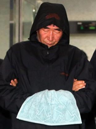 Lee Joon-seok, the captain of the sunken ferry.