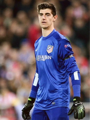 215591be6 Playing Courtois against parent club Chelsea could cost Atletico Madrid €6m