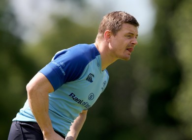 Brian O'Driscoll will feature for Leinster for the last time.
