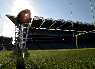 The Dan Rooney Trophy will be the prize for the winners of the Croke Park Classic.