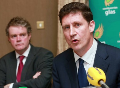 Eamon Ryan at today's launch