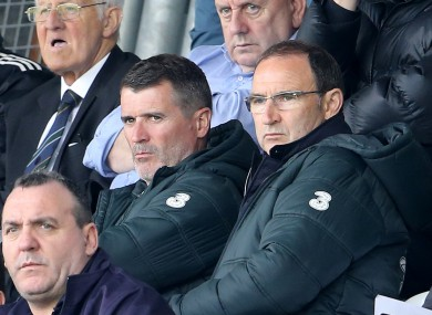 Roy Keane: fancied to take over at Celtic Park.