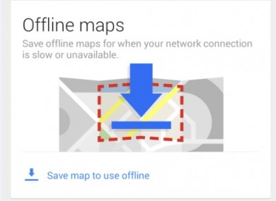 How to get more out of your phone when you're offline ... Save Map For Offline Use on print maps, facebook maps, service maps, online interactive maps, advertising maps,