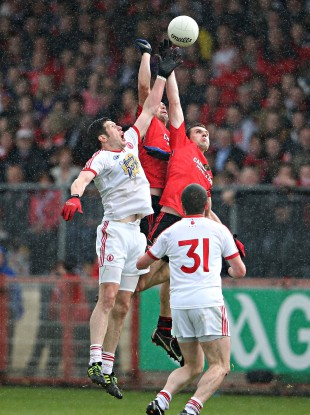 Tyrone and Down will meet again in Páirc Esler next Saturday night.