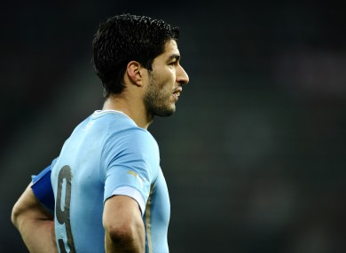 Suarez is hoping to be ready for next month's World Cup finals.