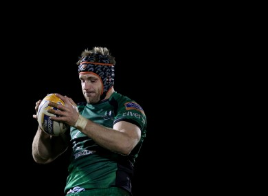 Clarke made 15 starts for Connacht over the course of the season.