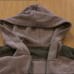 The fleece worn by Sandra Collins, which is stored at Ballina Garda Station.<span class=