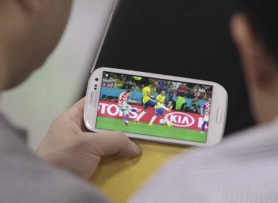 Watching the World Cup in high definition and using only a mobile connection could be a reality as developments in 5G gathers pace.