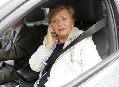 Justice Minister Frances Fitzgerald