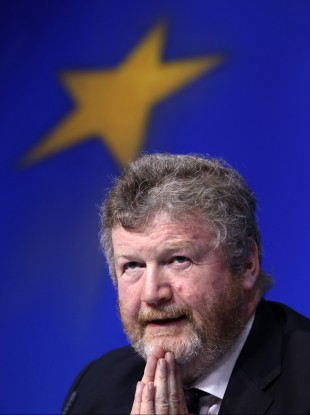 Health Minister James Reilly will hope to remain in his post after the reshuffle