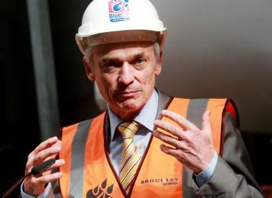 Minister for Enterprise Richard Bruton