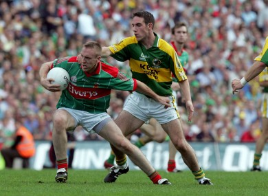 David Heaney with Declan O'Sullivan in 2006.