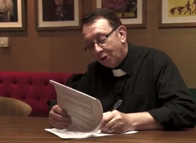Singing Priest Father Ray Kelly Signs Record Deal With Universal