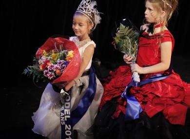 Child beauty pageant, Paris